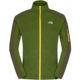 Polar The North Face M Glacier Delta Full Zip Green