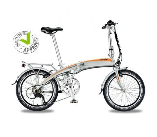 Bicicleta Electrica Pliabila Bizobike 7even Silver
