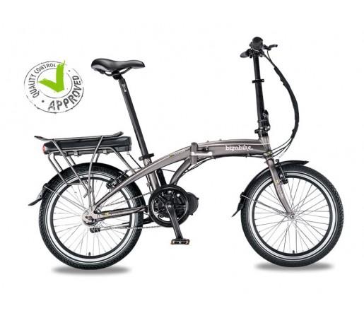 Bicicleta Electrica Pliabila Bizobike A-Class Silver