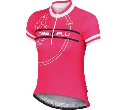 Tricou ciclism Catelli Segno Roz