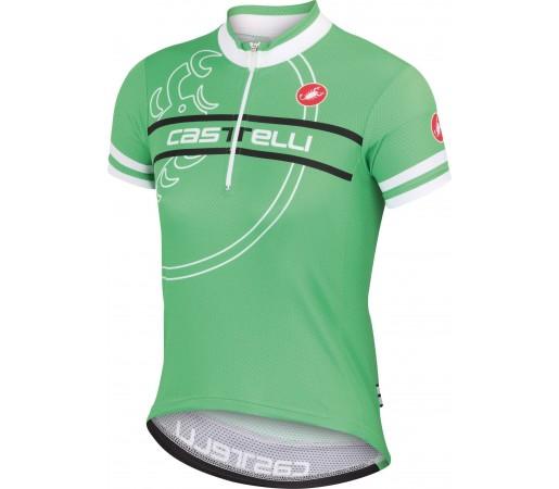 Tricou ciclism Castelli Segno Verde