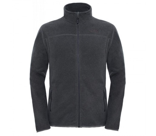 Polar The North Face 100 Glacier Full Zip M Gri/Negru