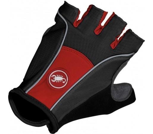 Manusi ciclism Castelli Pro Glove Negru/Rosu