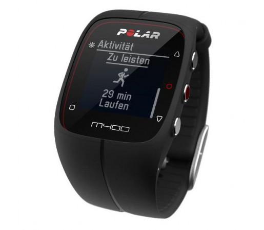 Ceas Polar M400 cu GPS Negru