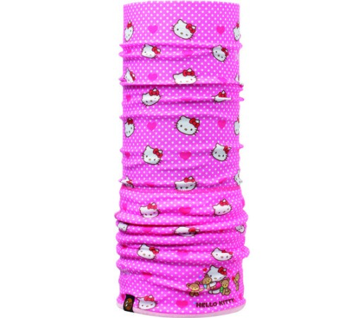 Neck Tube Buff Polar Hello Kitty Heartsand