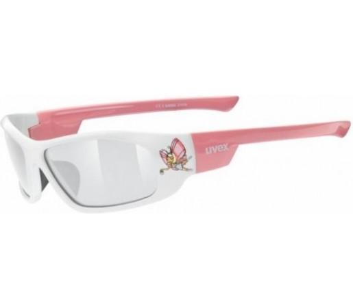 Ochelari de soare Uvex Pixie Junior Roz