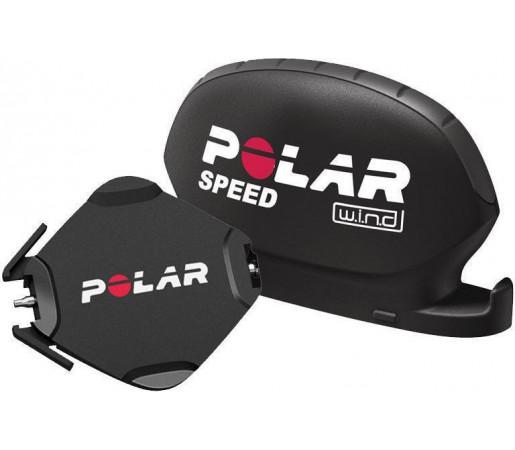 Senzor viteza Polar CS W.I.N.D. + sistem prindere bicicleta pentru Polar CS500