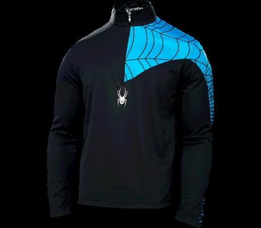 Midlayer Spyder Webcentric Negru/Albastru