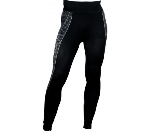 Pantaloni First-Layer Spyder Skeleton Black/White