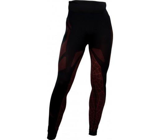 Pantaloni First-Layer Spyder Captain Negru/Rosu