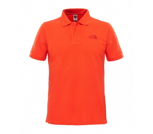 Tricou The North Face M Polo Piquet Rosu