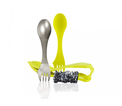 Set tacam Light My Fire Ultimate Spork Kit Lime