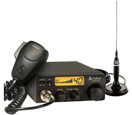 "Statie radio emisie-receptie 300W Cobra + Antena 31"""