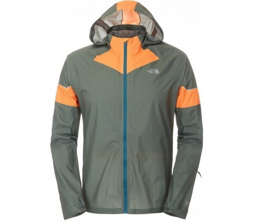 Geaca The North Face M Storm Stow Verde/Portocaliu