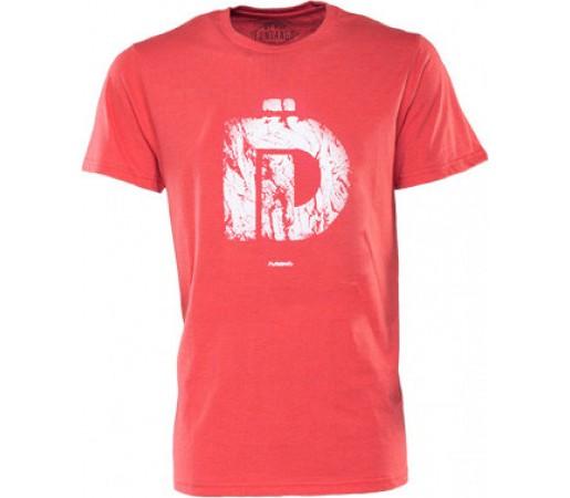 Tricou Fundango Basic T Logo 3 Rosu