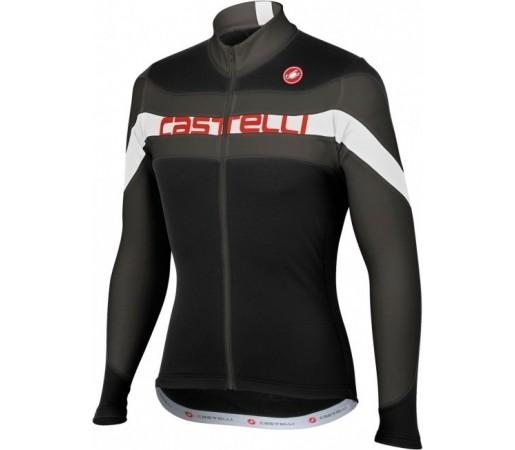 Bluza ciclism Castelli Giro Negru