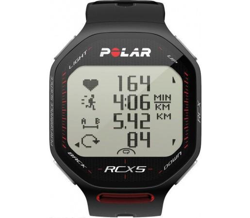 Ceas Polar RCX5 RUN cu centura HRM Negru