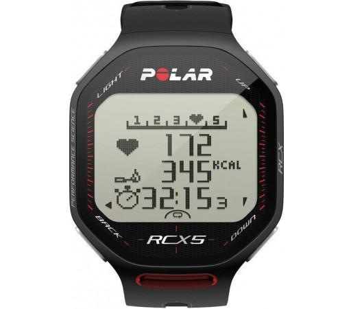Ceas Polar RCX5 cu centura HRM Negru