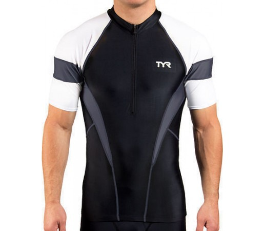 Tricou Tyr Competitor M Cycling Jersey negru/gri 2013