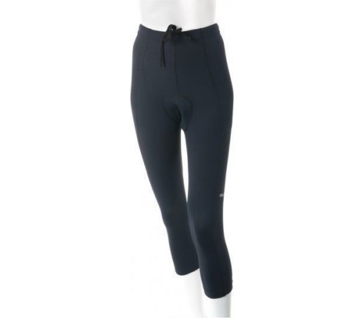 Pantaloni 3/4 cu bazon XLC Comp negri