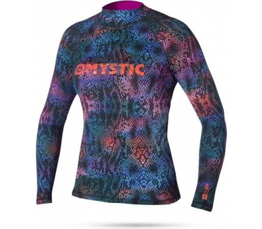 Bluza cu protectie UV Mystic Snake Skin LS Albastra