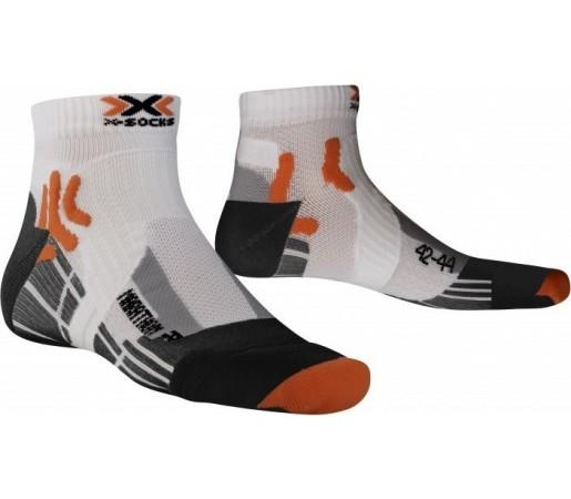 Sosete X-Socks Marathon White/Orange