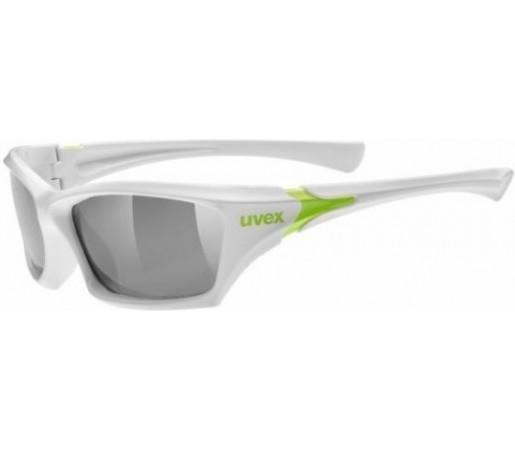 Ochelari sport Uvex Sportstyle 501 Junior Alb/Verde