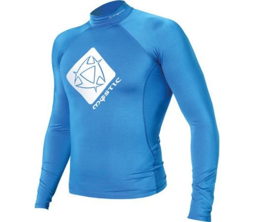 Bluza cu protectie UV Mystic Star Rashvest LS Junior Albastra