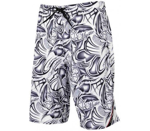 Boardshort  Mystic Tribal Alb