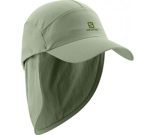 Sapca Salomon Softshell Neck Cap Green