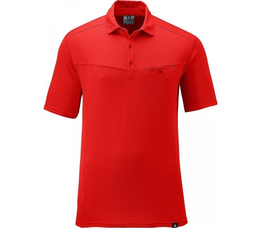 Tricou Salomon Manabi Polo M Red
