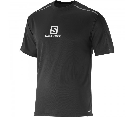 Tricou Salomon Stroll Logo M Black