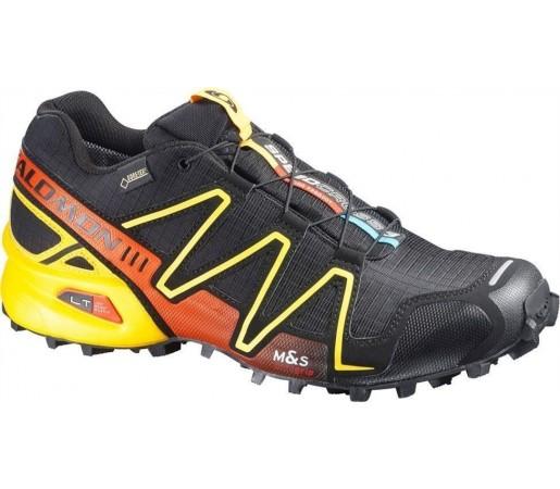 Incaltaminte Salomon Speedcross 3 GTX M Black/Yellow