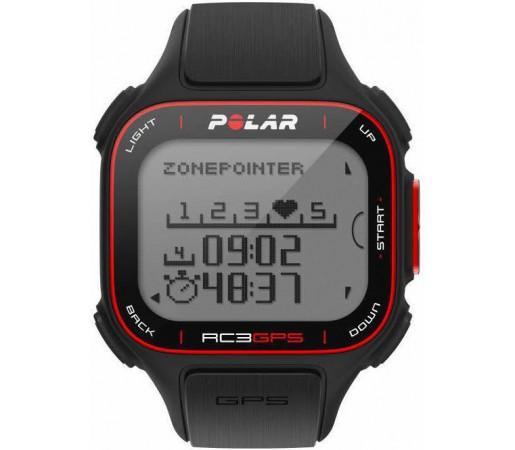 Ceas Polar RC3 cu GPS Negru
