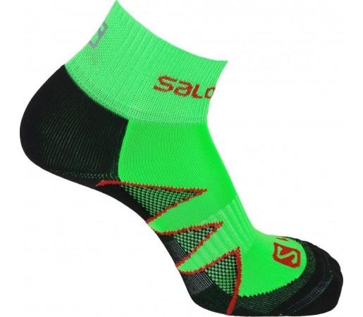 Sosete Salomon Citytrail Verde/ Negru