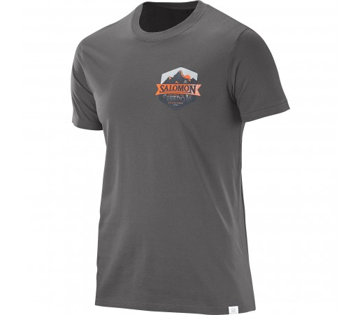 Tricou Salomon M Ultimate Gri