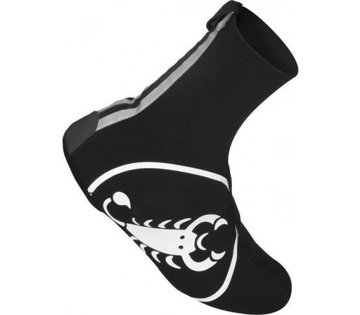 Husa pantofi ciclism Castelli Diluvio Negru/Alb