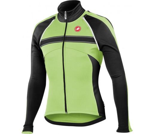 Jacheta ciclism Castelli Pazzo Negru/Verde