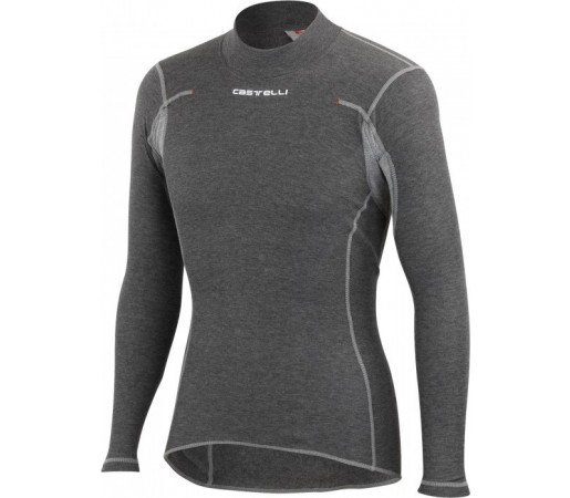First layer Castelli Flanders Warm Long Sleeve Gri