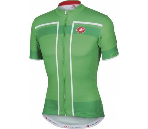 Tricou ciclism Castelli Velocissimo Verde