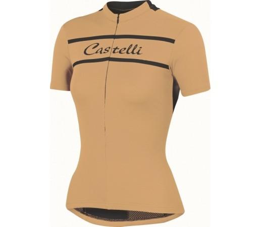 Tricou ciclism Castelli Promessa Portocaliu