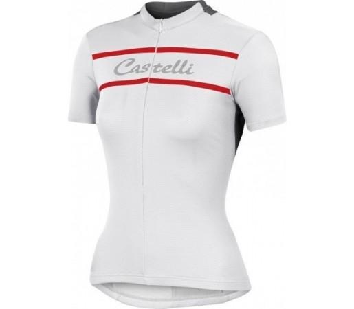 Tricou ciclism Castelli Promessa Alb