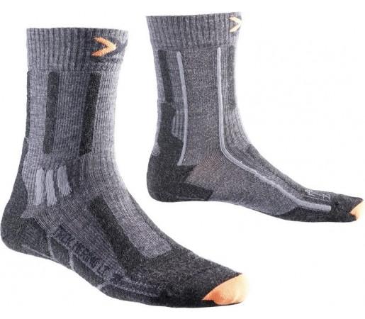 Sosete X-Socks Trekking Merino Light Mid Grey