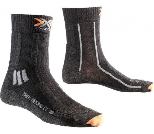 Sosete X-Socks Trekking Merino Light Mid Black