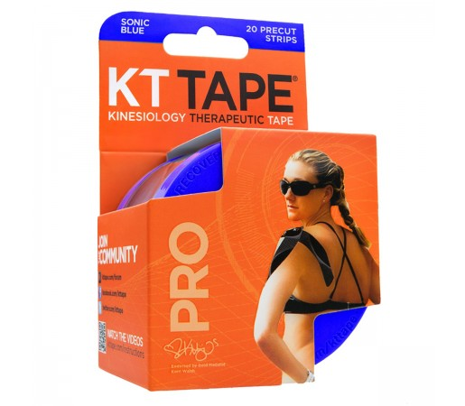 Benzi Kinesiologice Kt Tape Pro Synthetic Precut S Blue