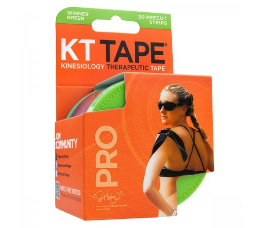 Benzi Kinesiologice Kt Tape Pro Synthetic Precut Green