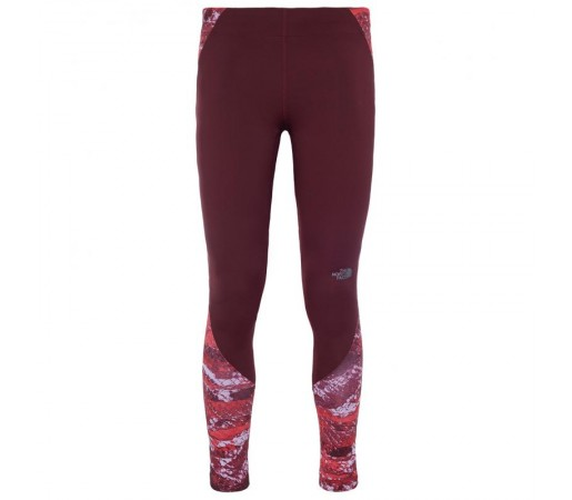 Pantaloni The North Face W Motus Tight Ii Visiniu