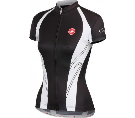 Tricou ciclism Castelli Amore Negru/Alb