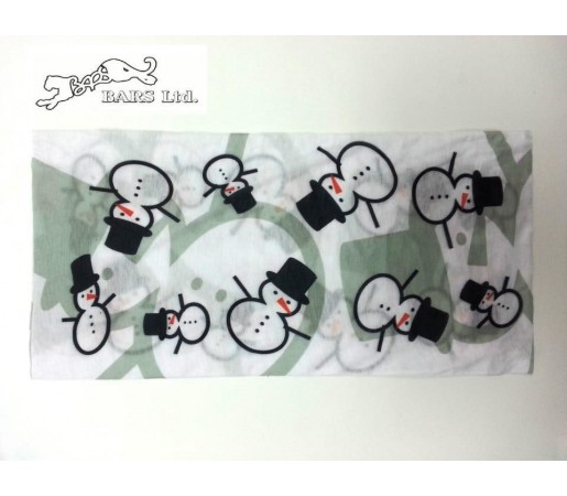 Neck tube Bars Snow Man