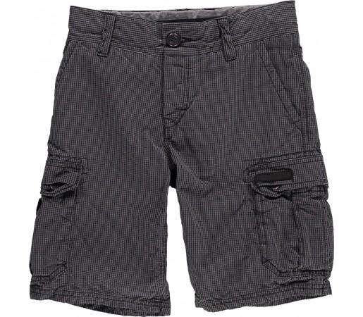 Pantaloni scurti O'Neill LM Complex Check Walkshorts Negru